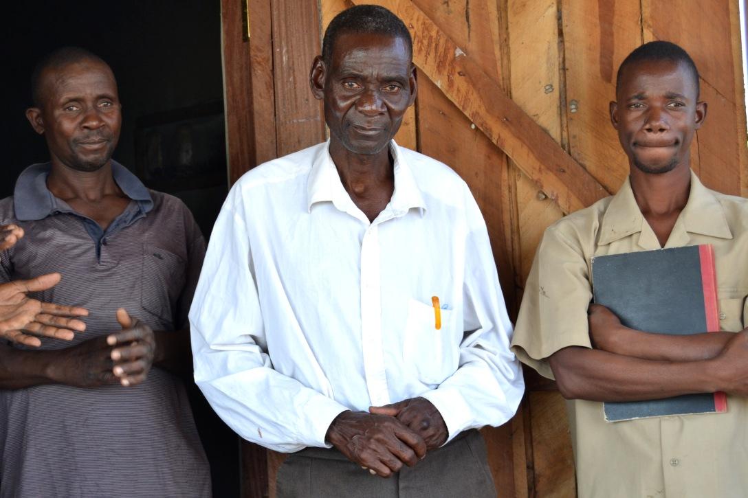 Nsanje solar irrigation leaders